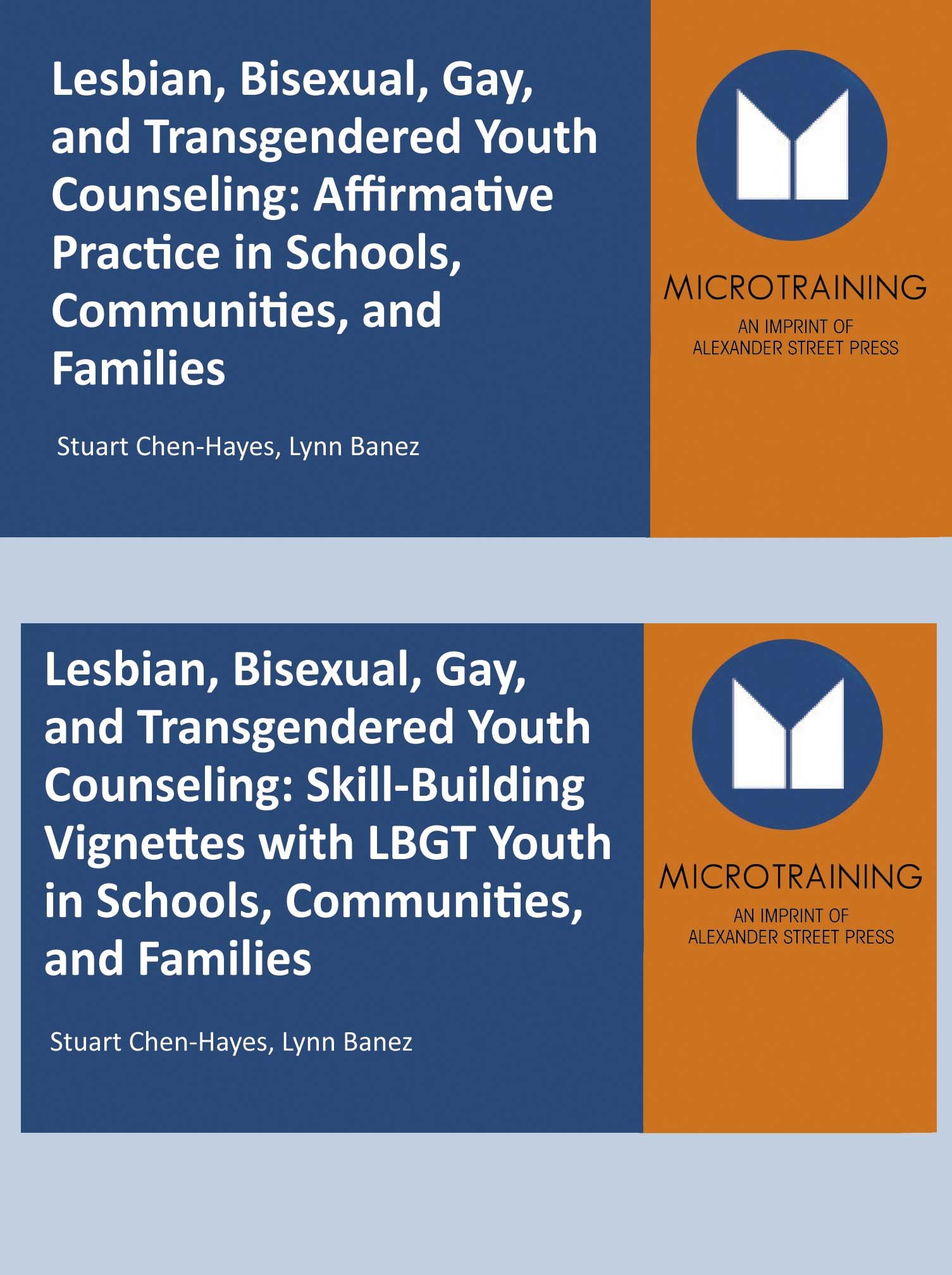 Lesbian, Bisexual, Gay & Transgendered Youth Counseling Set - Educational Version with Public Performance Rights