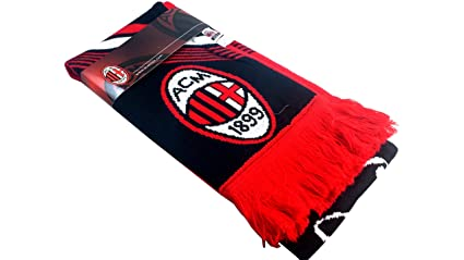 Amazon.com   A.C. Milan Authentic Official Licensed Soccer Scarf ... 6e38bfc49b31e