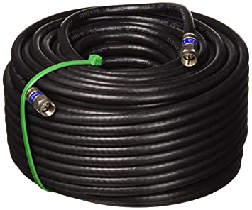 100 FT Weather Seal Quad Shield outdoor 3 GHz RG-6 cable coaxial 75 Ohm
