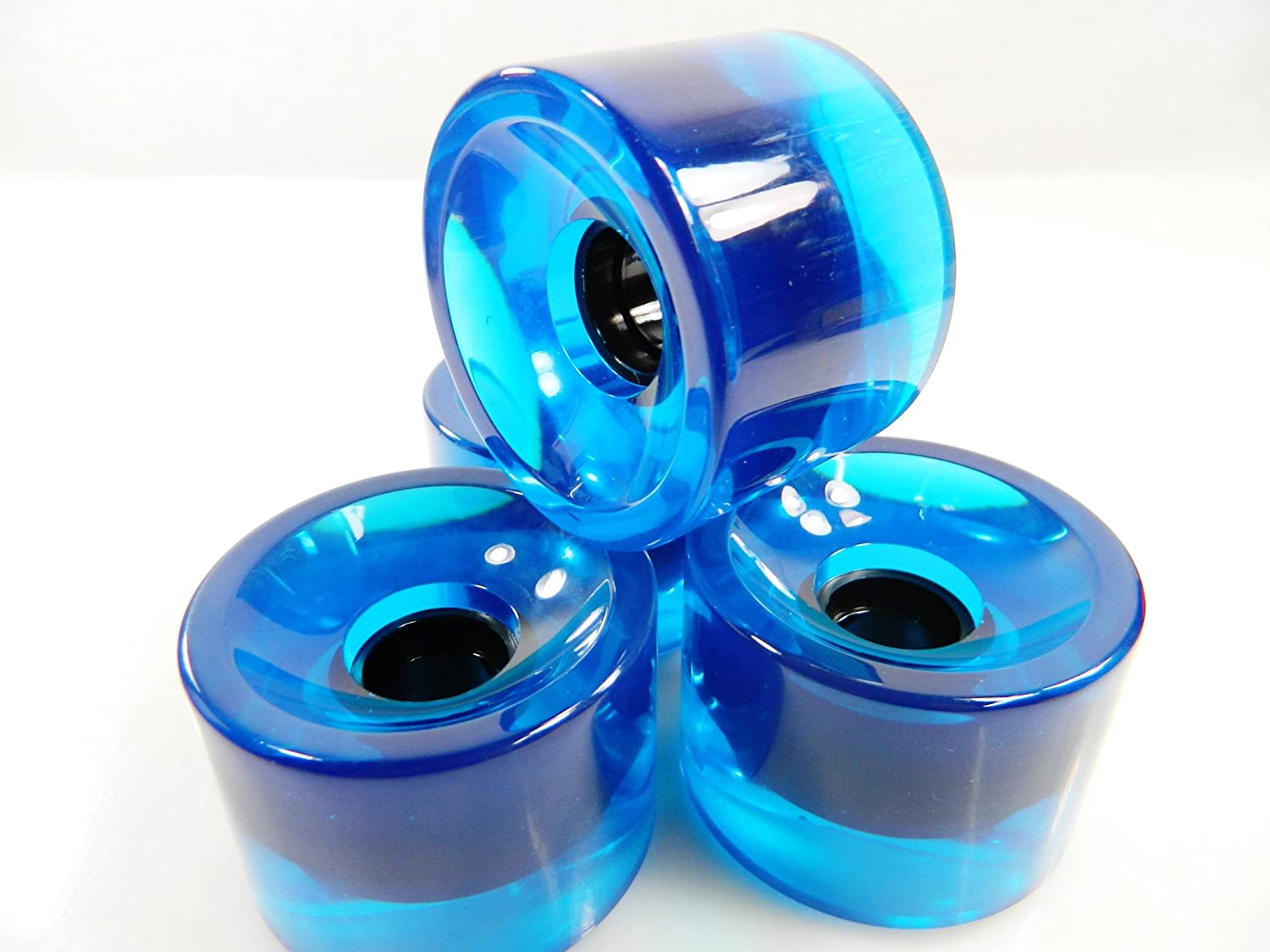Big Boy 70mm Blank Gel Color Pro Longboard Cruiser Wheels