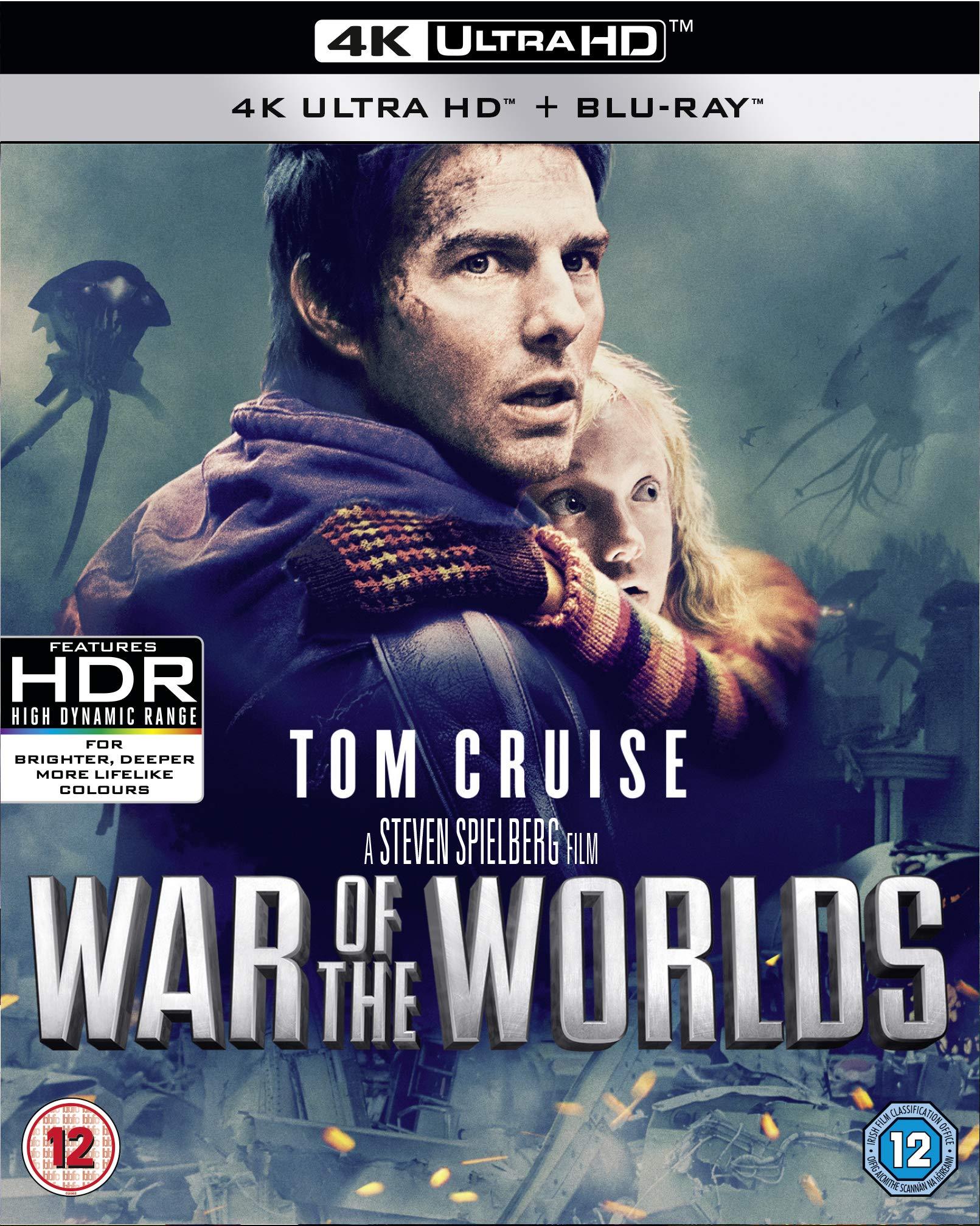 War of the Worlds – 4K Ultra HD [Blu-ray] [2020] [Region Free]