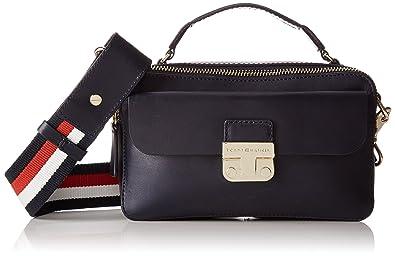 9d53550b2bd7 Tommy Hilfiger Fashion Hardware Leather Mini X Over