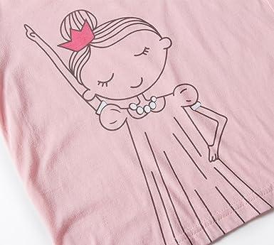 3b05e17b0e0e1 Hugbug Pyjama Fille Manches Longues Coton Imprimé Danse 7 ans  Amazon.fr   Vêtements et accessoires
