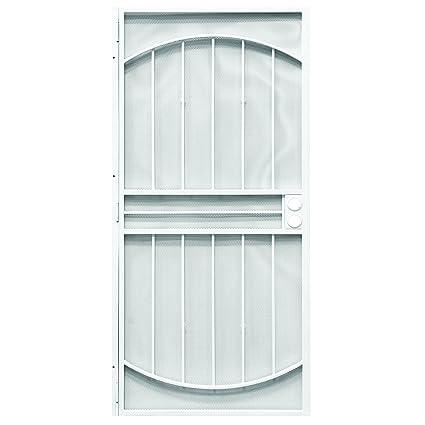 Prime-Line Products 3836WH3068-WF Monterrey Steel Security Door 36 x 80\u0026quot;  sc 1 st  Amazon.com & Amazon.com: Prime-Line Products 3836WH3068-WF Monterrey Steel ...
