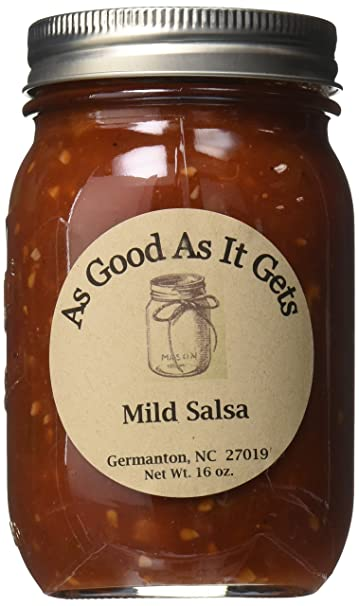As Good As It Gets Mild Salsa, 16 oz