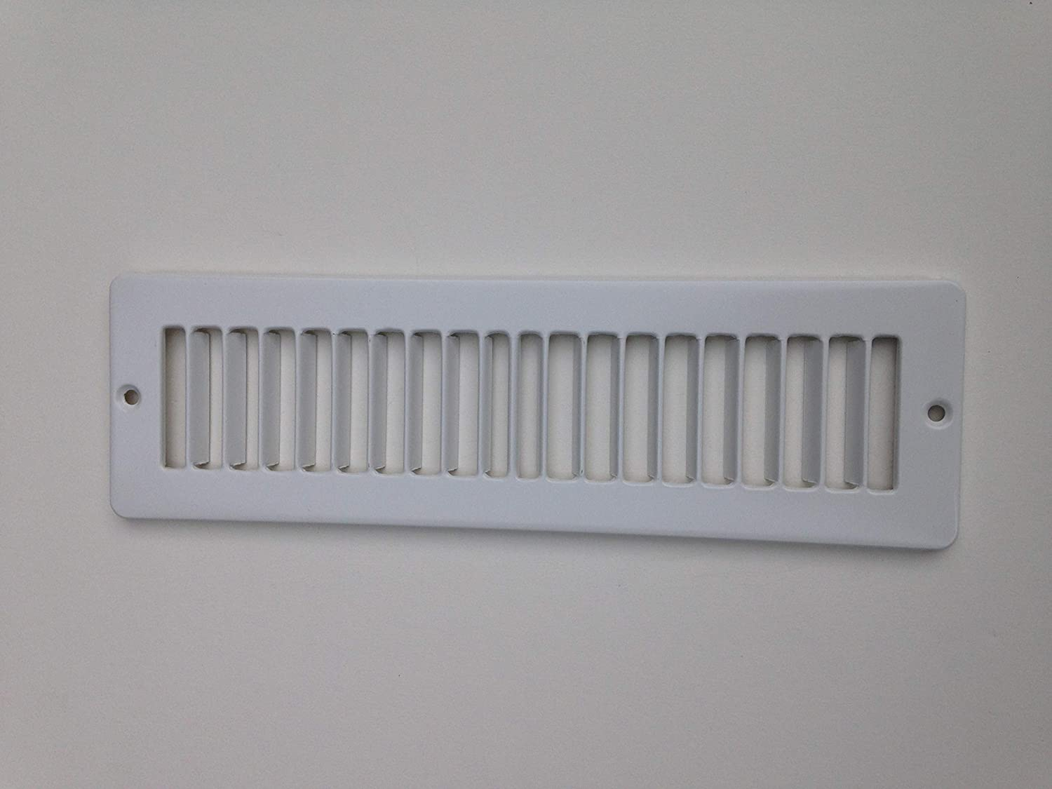 Under Cabinet Heating and Cooling White Register Plate