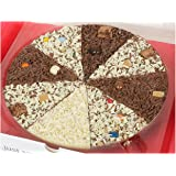"""Gourmet Chocolate 10"""" Pizza Belgian Chocolate Delicious Dilemma 10"""" Pizza"""
