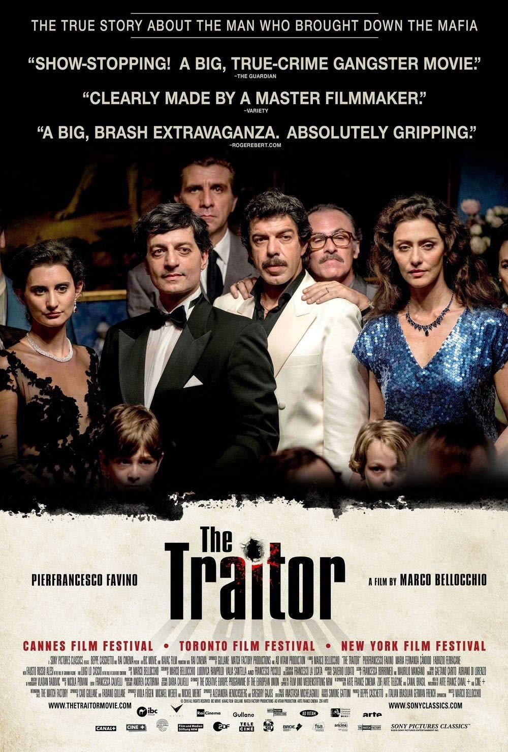 printdesign The Traitor - Movie Poster Wall Decor Cartel de ...