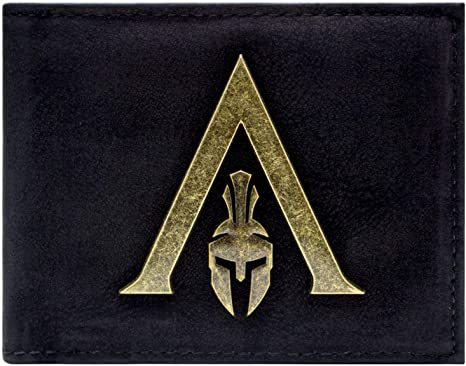 Assassins Creed Odyssey Sparte Logo Portefeuille Noir Amazon Fr Bagages