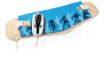 Daga Flexy-Heat LM Sport- Almohadilla Eléctrica Ergonómica para Lumbar, 70x22 cm,