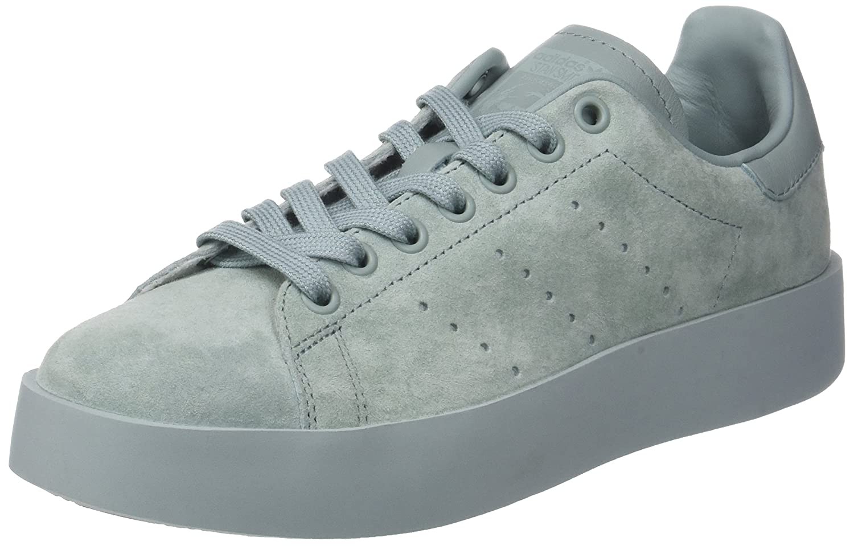 Adidas Stan Smith Bold W, Zapatillas de Deporte para Mujer 39 1/3 EU|Verde (Vertac / Vertac / Vertac)