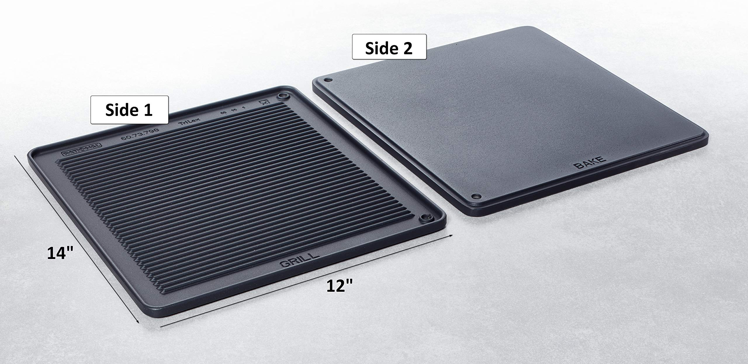 RATIONAL Grill and Pizza Tray 12'' x14'' - 2/3 GN 60.73.798 by RATIONAL