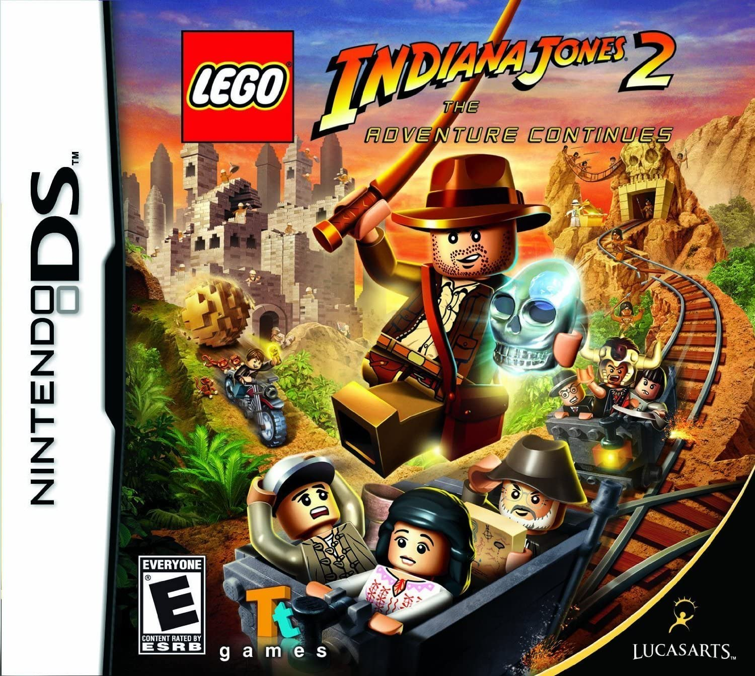 Amazoncom Lego Indiana Jones 2 The Adventure Continues Nintendo