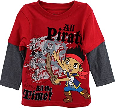 Disney Store Jake and the Never Land Pirate Thermal Long Sleeve T Shirt 4