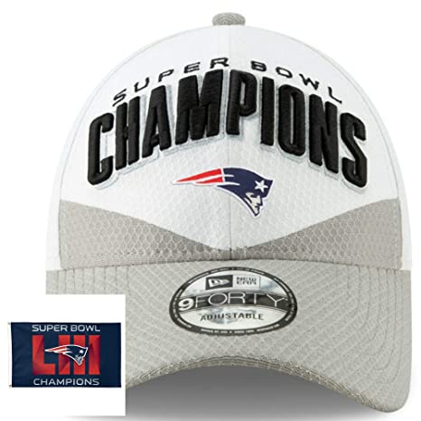 Image Unavailable. Image not available for. Color  Official Patriots New  Era NFL Super Bowl LIII Championship Locker Room Hat ... 704c85dbadf8