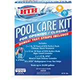 HTH 91021 Pool Care Kit Opening and Closing Maintenance Bundle, 0
