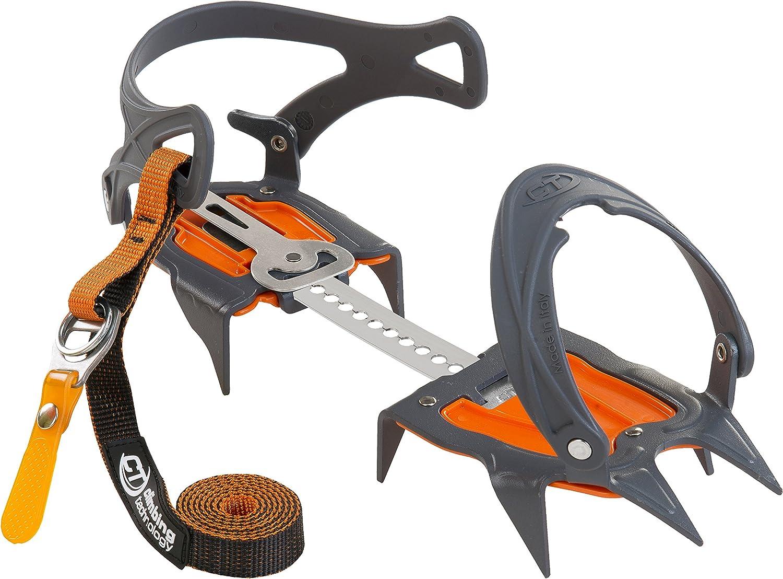 Climbing Technology Nevis Flex, Rampón de 10 puntas, Unisex - Adulto, Gris, Talla Única