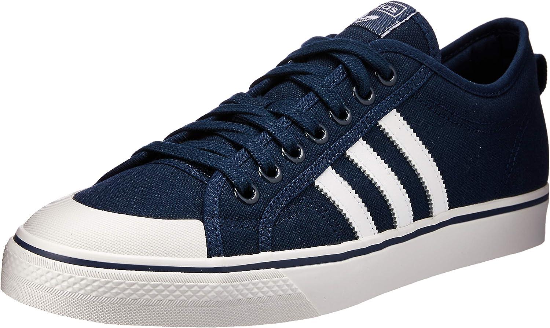 Adidas Nizza, Zapatillas de Deporte para Hombre, Azul (Maruni/Ftwbla/Balcri 000), 44 2/3 EU
