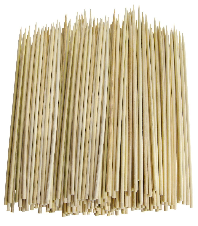 Royal 7 Pack of:1000ct Premium Quality Campfire Kabob skewers Yakitori bamboo sticks Hot Dog Vegetables Marshmallow Roasting Sticks (1000, 10'') by Royal 7