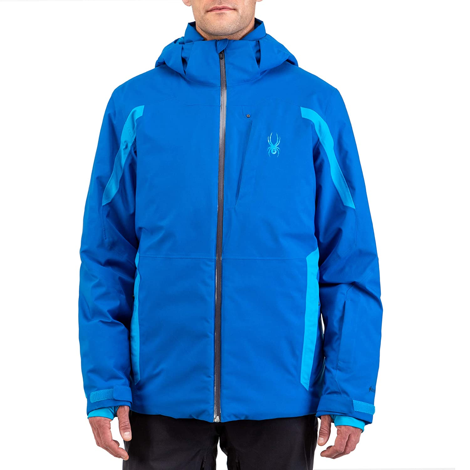 Spyder Men/'s Copper Gore-Tex Ski Jacket Male Full Zip Hooded Winter Coat