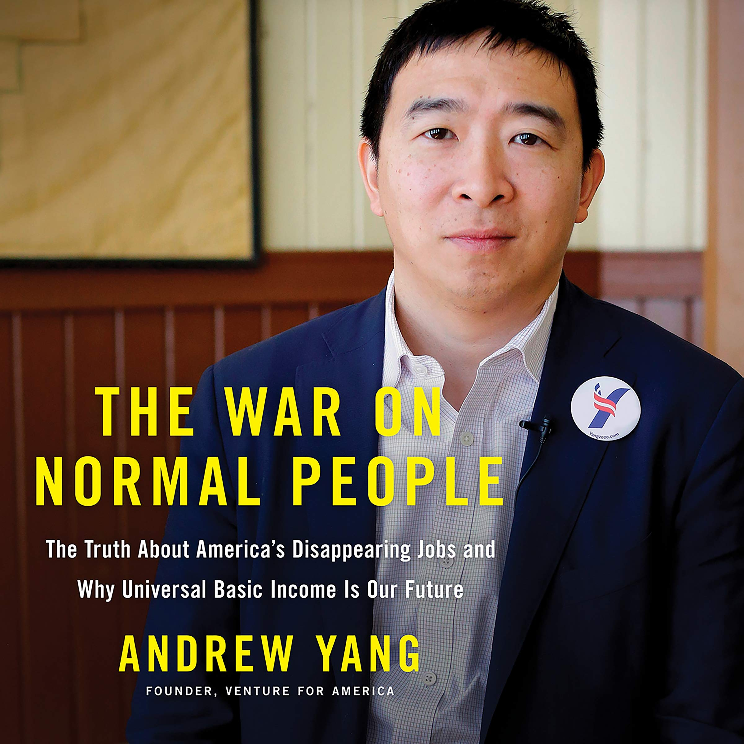 Image result for The War on Normal People Andrew Yang