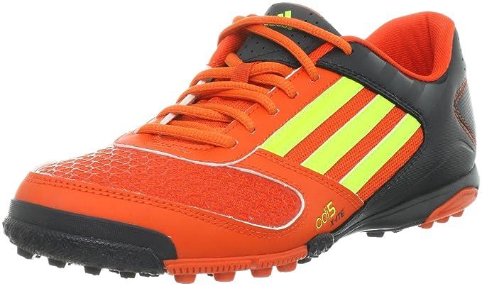 9c9ad76ee Adidas Adi5 X-ITE Astro Turf Soccer Boots - 9.5 Black Orange: Amazon ...