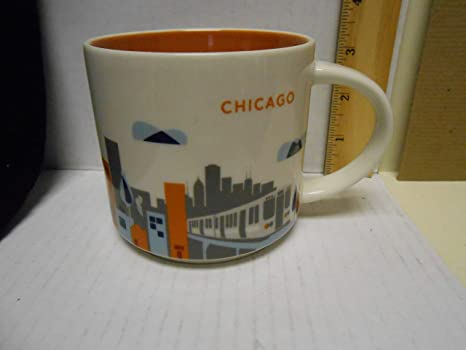 Latest Release Mug Stackable You Are HereyahChicago Starbucks 9EHWDI2