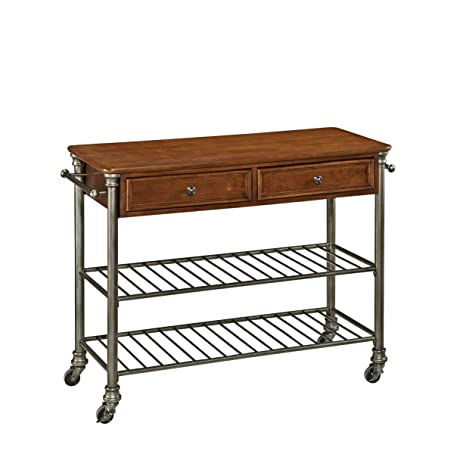 Amazon.Com - Home Styles Orleans Kitchen Cart - Bar & Serving Carts