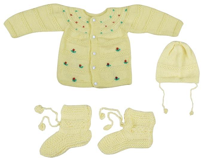 56fa8bb39 Kuchipoo Unisex Hand Knitted Woollen Clothing Set (KUC-MNC ...