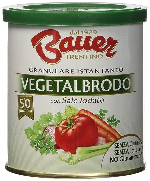 8 opinioni per Bauer Vegetalbrodo 200 gr