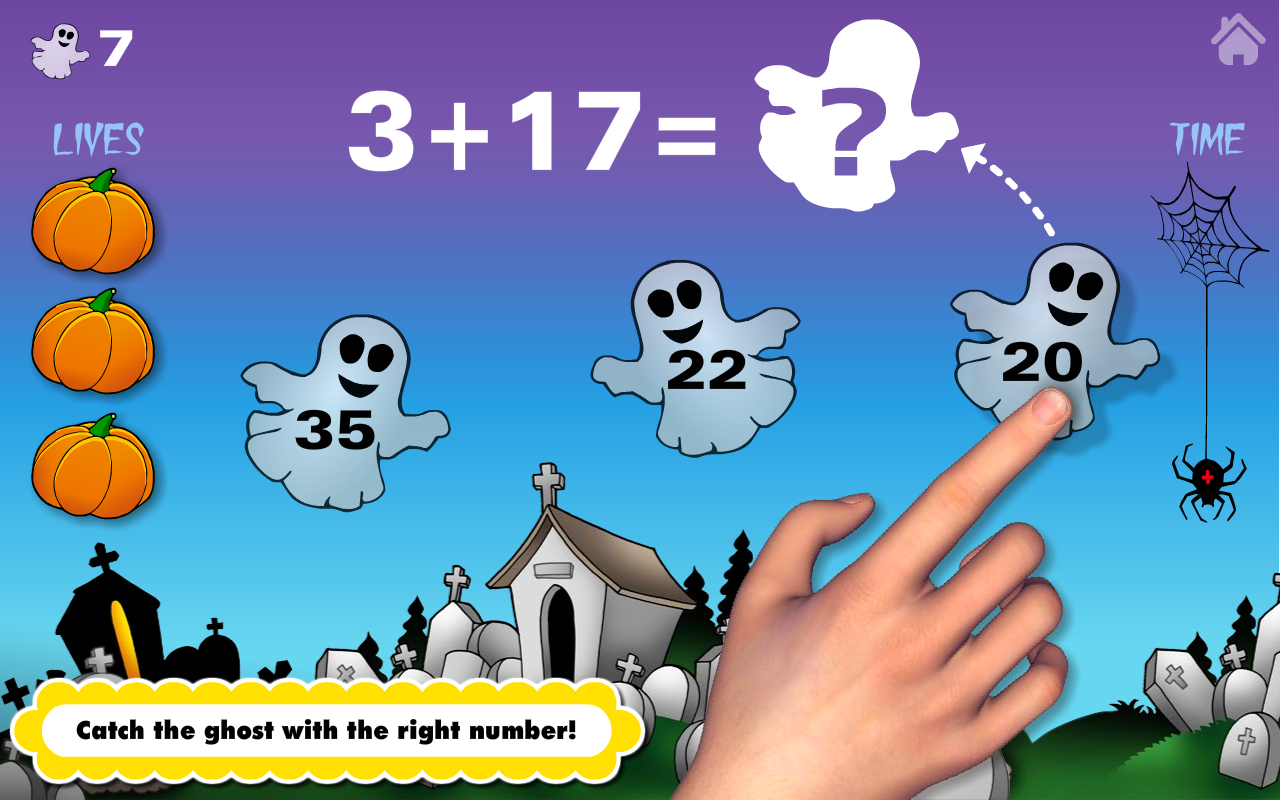 amazoncom math bingo and math drills challenge learning games for pre k to fourth grade halloween adventure basic school math numbers addition - Online Halloween Math Games