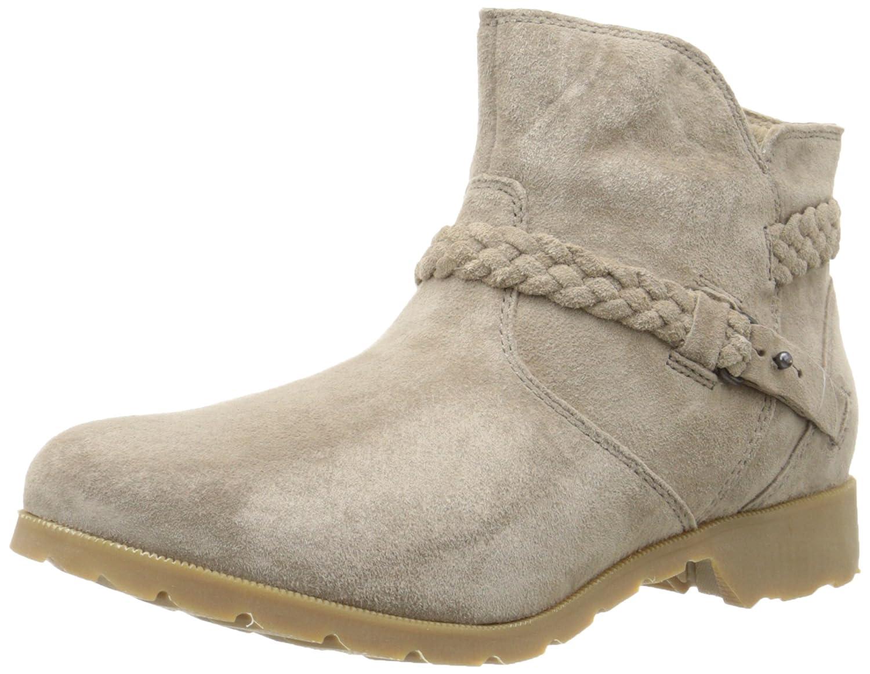 7ee39a61cfcc5d Teva Women s Delavina Suede Ankle Boot Black  Teva  Amazon.ca  Shoes    Handbags