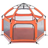 Pop 'N Go Portable Playpen - Lightweight, Folding, Easily Collapsible Play Yard Crib for Indoor & Outdoor Play - Perfect…