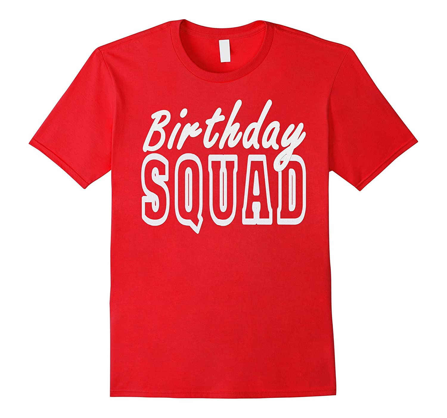 Birthday Squad White Party T Shirt CL