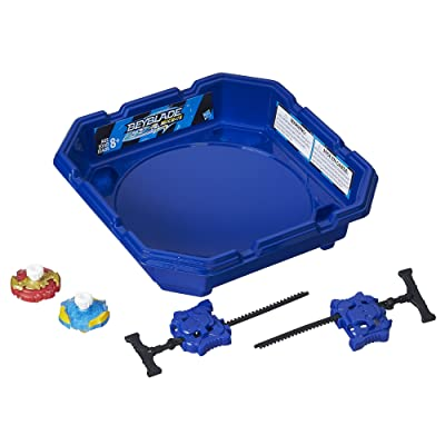 Hasbro Beyblade Burst Mini Top 2-Player Starter Set: Toys & Games