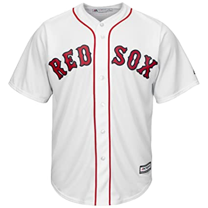 a793995080b Image Unavailable. Image not available for. Color  Majestic Athletic Boston  Red Sox Home White Cool Base Men s Jersey ...