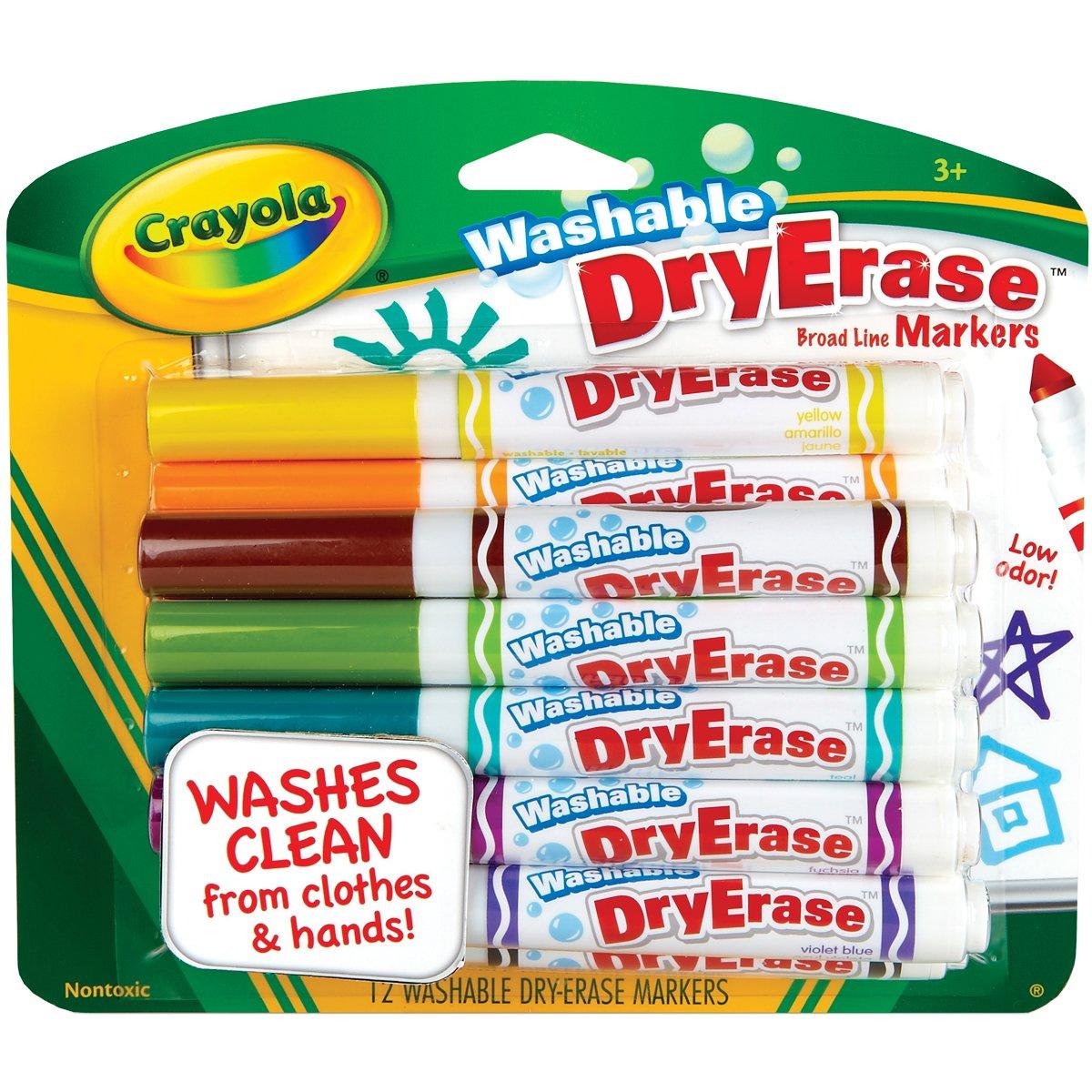 Amazoncom Crayola 12 Ct Washable Dry Erase MarkersDiscontinued by