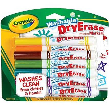 amazon com crayola 12 ct washable dry erase markers discontinued by
