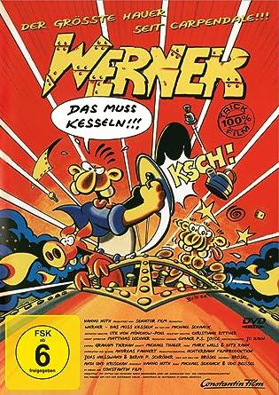 DVD WERNER-DAS MUSS KESSELN: Amazon.co.uk: DVD & Blu-ray