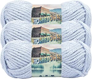 (3 Pack) Lion Brand Yarn 135-115 Hometown Yarn, St Paul Sky