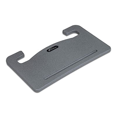 AutoExec AUE13000 Wheelmate Car Desk Grey Steering Wheel Tray for Laptop, Writing Space and Eating on The Go: Automotive