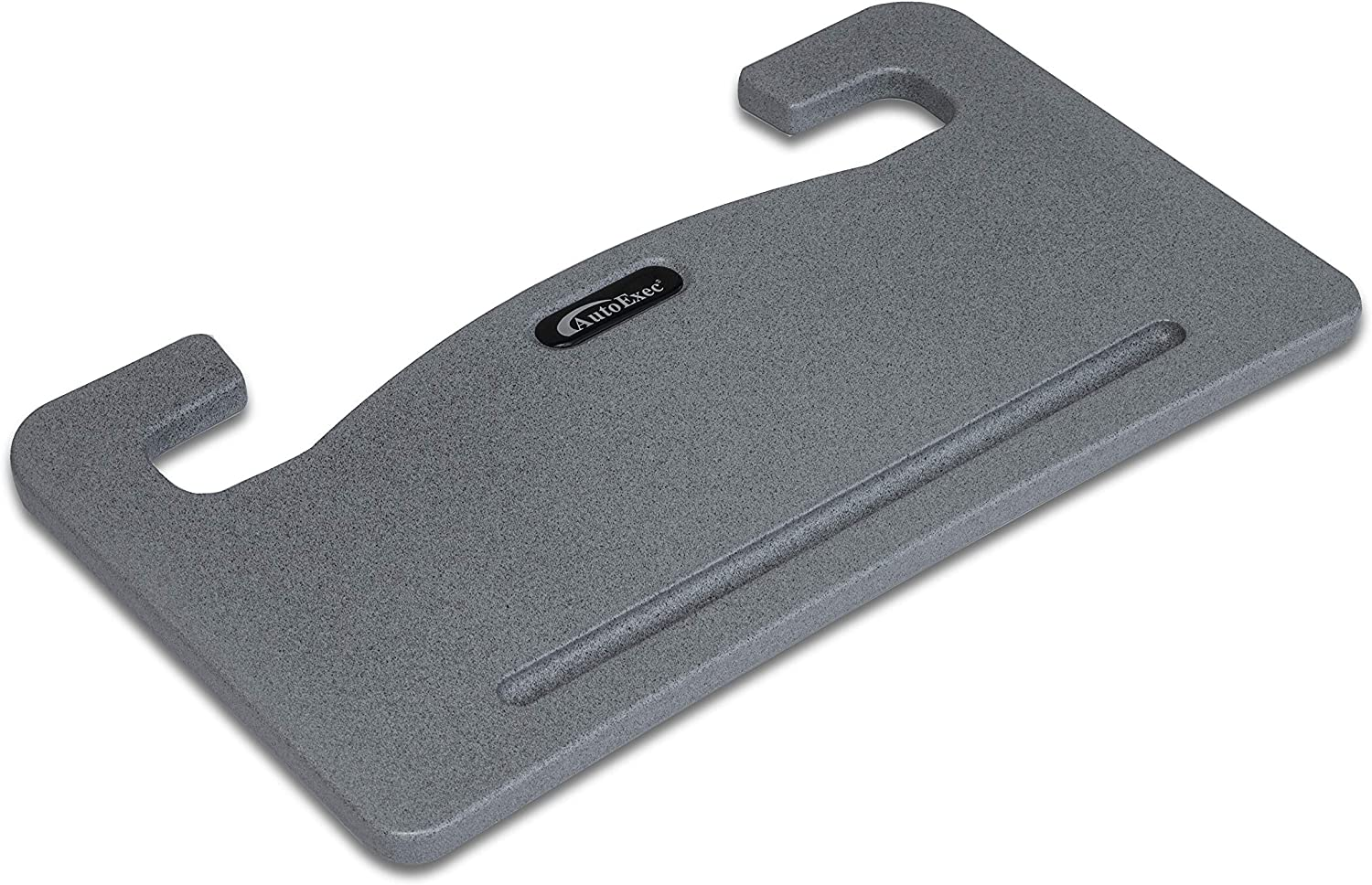 AutoExec AUE13000 Wheelmate Car Desk Grey Steering Wheel Tray for Laptop, Writing Space and Eating on The Go