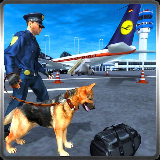 (Police Dog Airport Security Adventure Simulator 3D: Criminal Gangster Crime In Prison Escape Action Thrilling Survival Adventure Mission Games Free For Kids 2018)