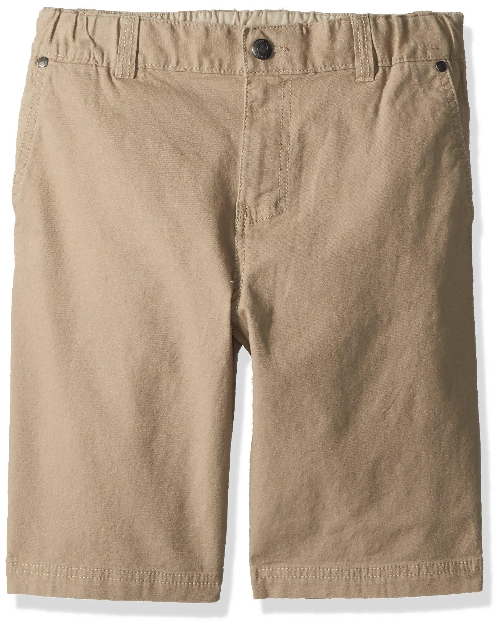 Columbia Boys' Big Flex ROC Short, British tan, L