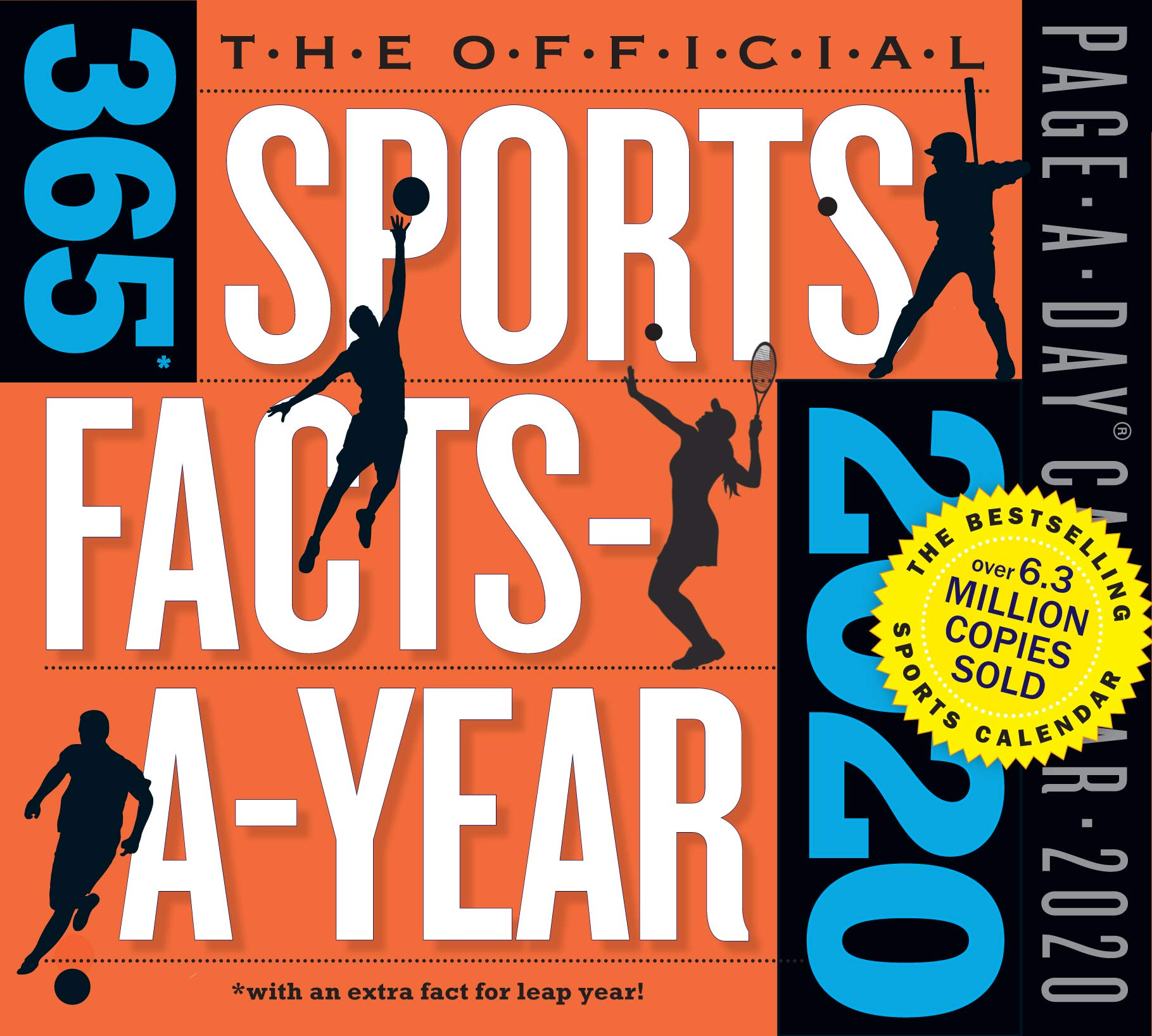 Sports Calendar 2020 Official 365 Sports Facts A Year Page A Day Calendar 2020: Workman