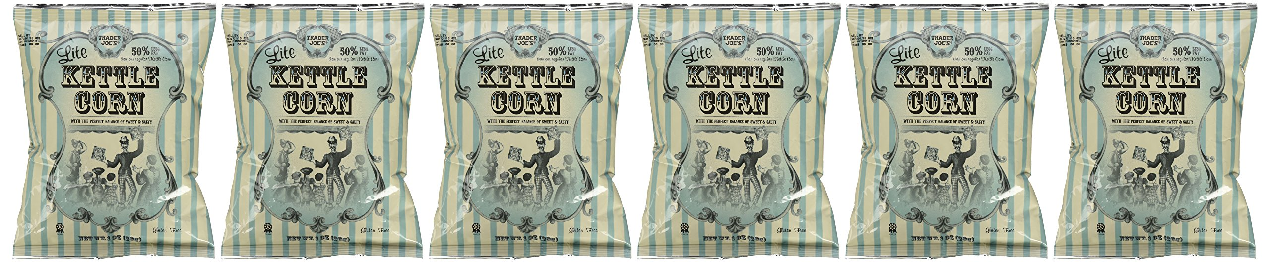 6 Pack of Trader Joe's Lite Kettle Corn