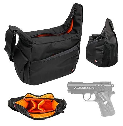 9ce5a099 Amazon.com : DURAGADGET Colt Defender Pistol BB Airgun Carry/Storage ...