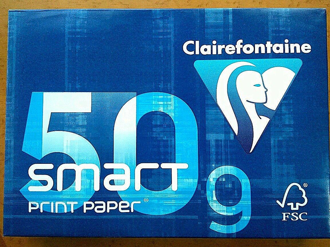 Clairefontaine Smart Smart Smart 1932 – risma di 500 fogli di carta 50 g A4 bianco, confezione da 6 | Colore Brillantezza  | Eccellente  Qualità  | Re della quantità  | Diversified Nella Confezione  | Più pratico  | marchio  | Conveniente  | Promozioni s c67942