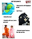 Lazy One Animal Blanket Hoodie for Kids, Hooded