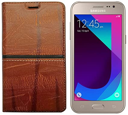 100% authentic 0cd8f 85bfe SAMSUNG GALAXY J2 Rich Boss Plastic Flip Cover for: Amazon.in ...